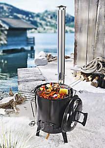 Festtagsmahl Fondue Schlitten