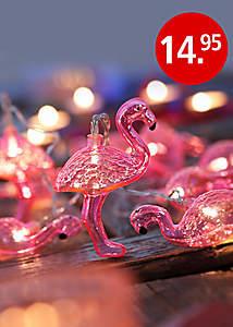Bild Flamingo Lichterkette