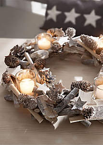 Adventskranz Shabby