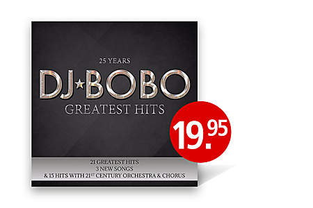 CD DJ BoBo - Greatest Hits - Jetzt bestellen
