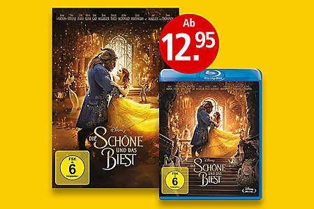 DVD & Blu-ray von die Schöne & das Biest