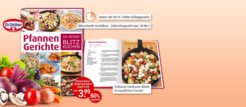 Dr Oetker Blitz Kochen Weltbild Edition Weltbildde