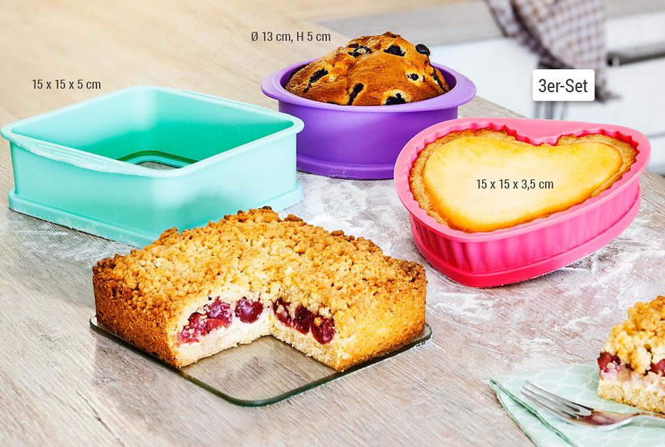 Tolles Trio Für Kleine Kuchen