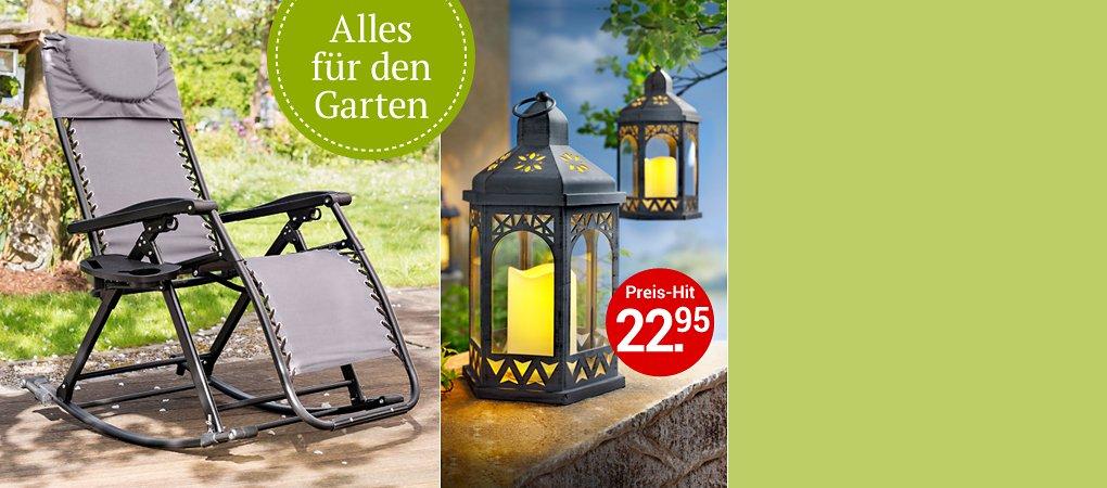 Hochsaison für Garten und Balkon