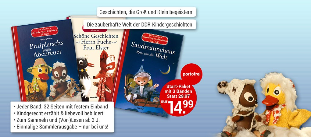 Die schönsten Kindergeschichten der DDR (Weltbild EDITION)