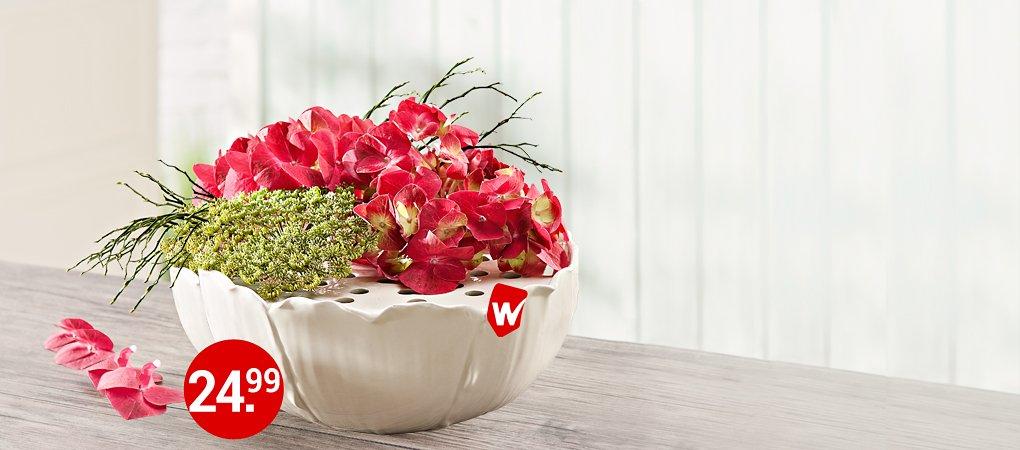 Blumensteckvase