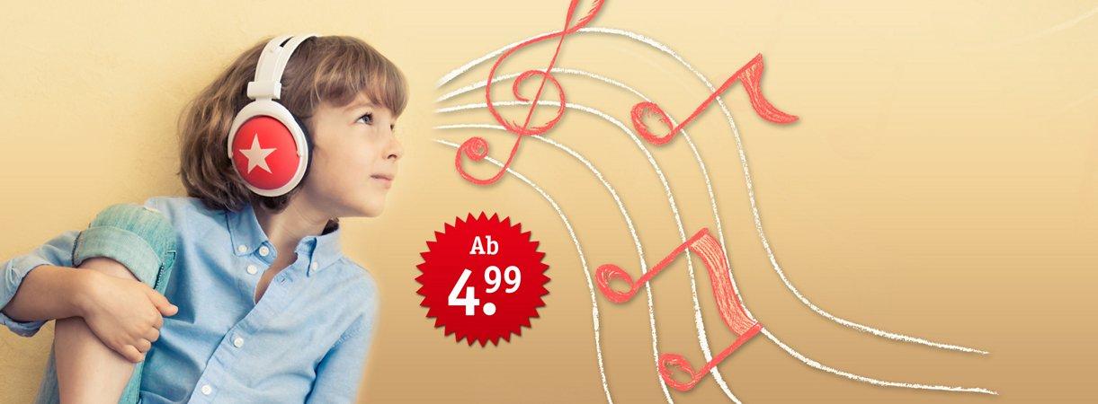 Hörspaß für Kinder