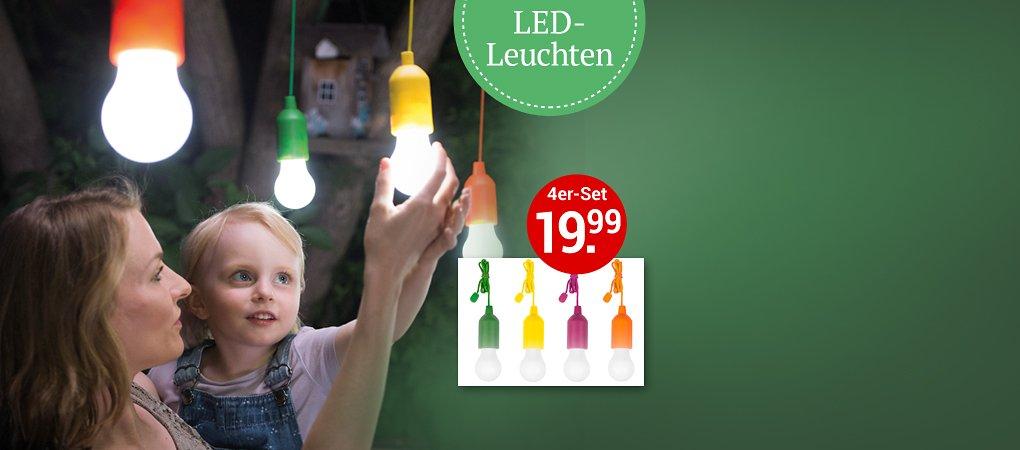 HandyLUX – kabellose LED-Leuchte für Garten, Garage etc.