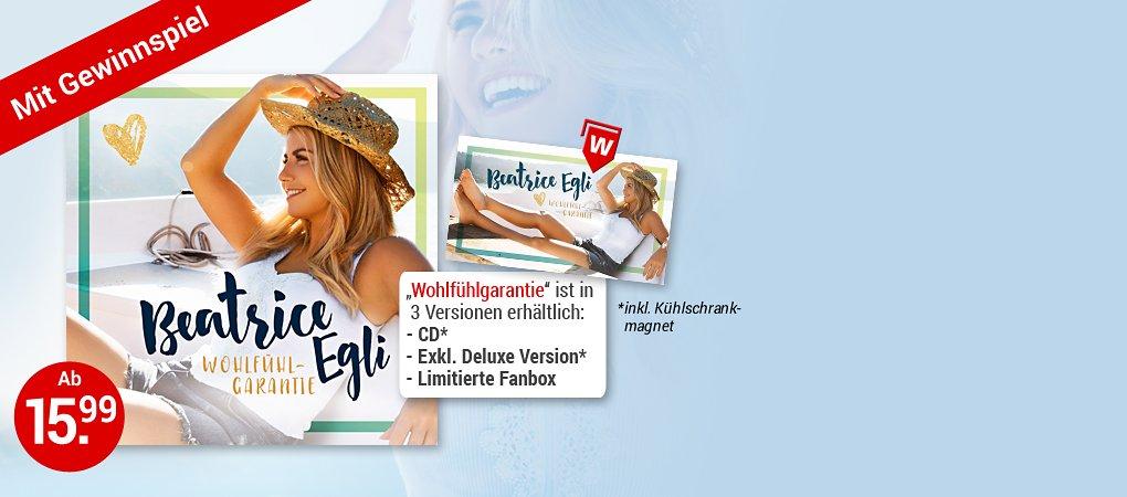 Beatrice Egli - Wohlfühlgarantie CD hier kaufen
