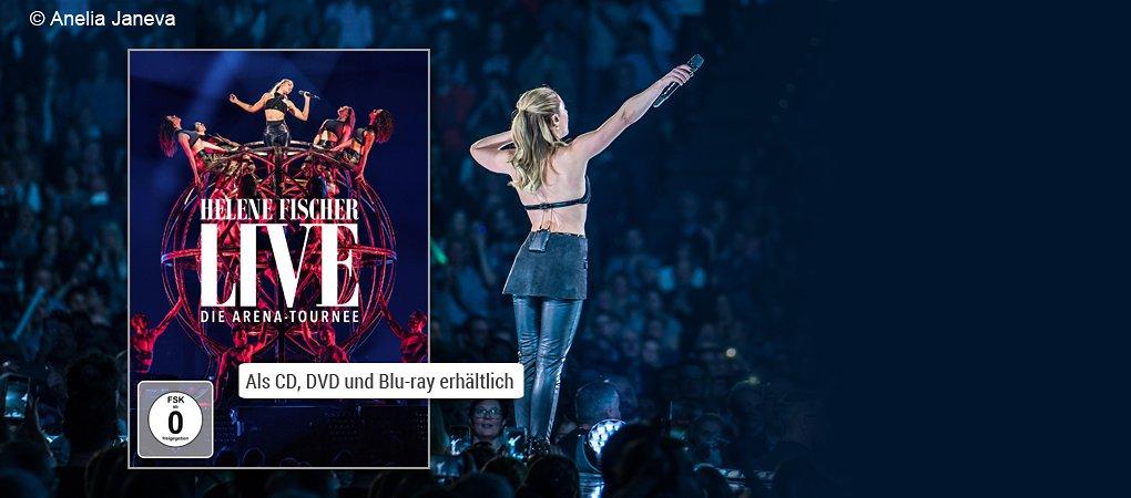 Helene Fischer Live - Die Arena Tournee DVD hier kaufen