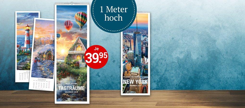 XL-Kalender mit brillanten Panoramabildern
