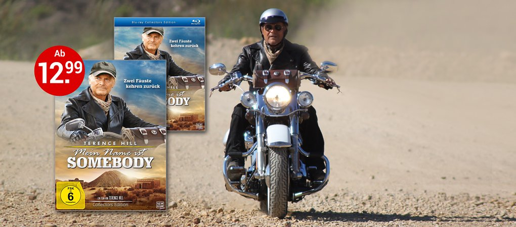 Terence Hill auf DVD & Blu-ray