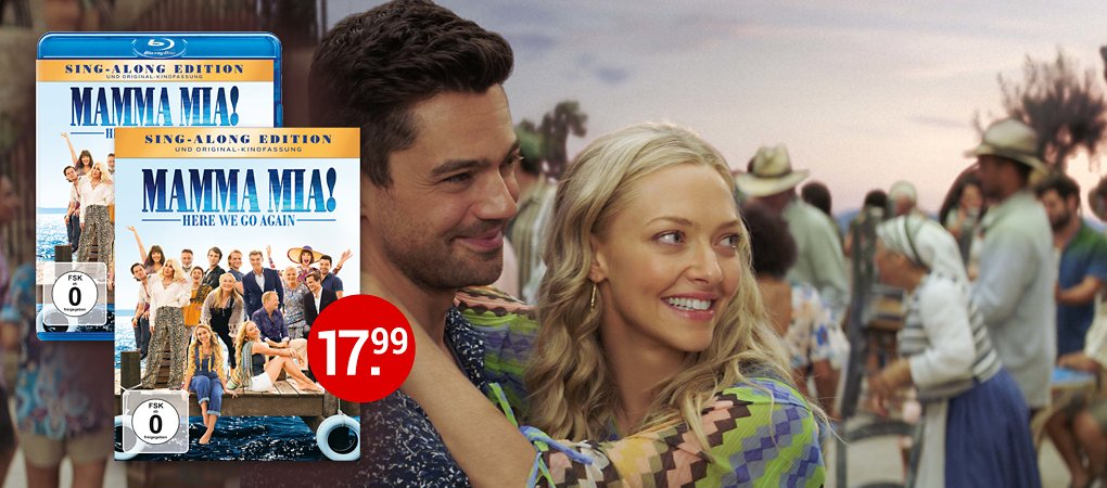 Mamma Mia - Here We Go Again auf DVD & Blu-ray