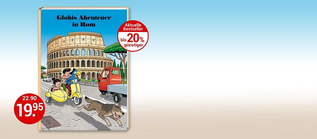Globis neustes Abenteuer in Rom!