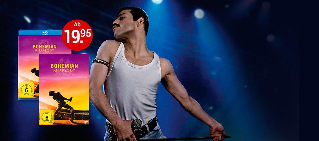 Bohemian Rhapsody auf DVD hier kaufen