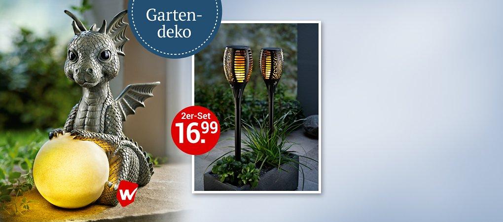 Neue Deko-Highlights für Ihren Garten