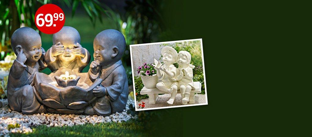 Von Asia- bis Romantik-Stil: Deko für jedes Gartenambiente