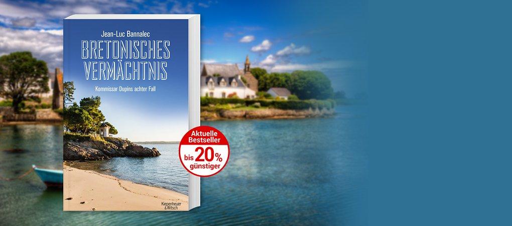 Der neue Bretagne-Krimi von Bestsellerautor Jean-Luc Bannalec