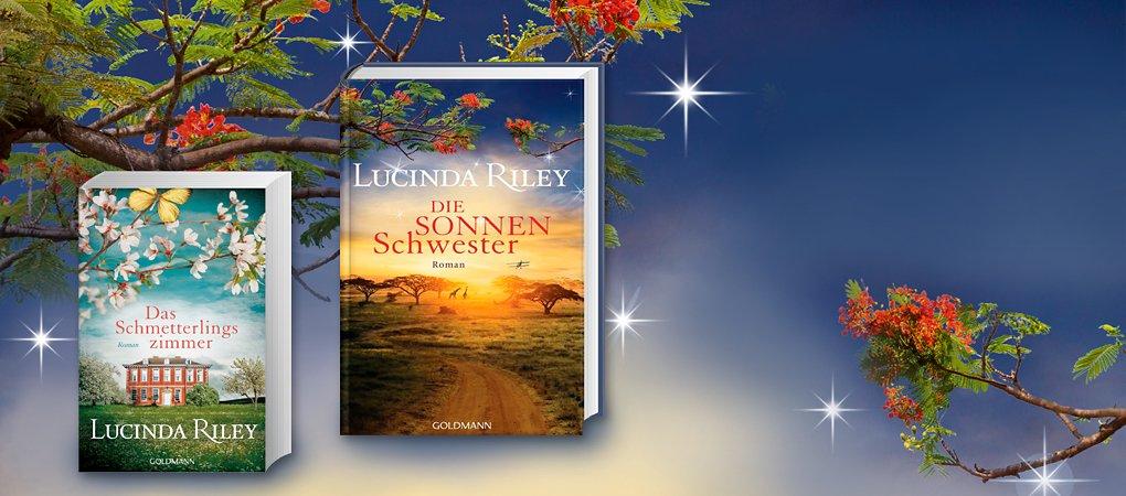 """Endlich Neues von Bestsellerautorin Lucinda Riley! Band 6 der """"Sieben-Schwestern-Reihe"""" und mehr"""