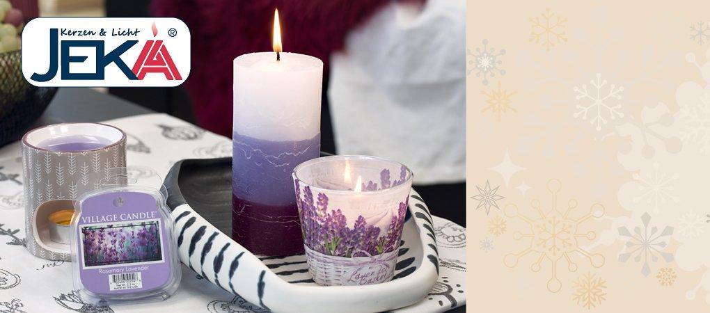 Neu bei Weltbild - JEKA Kerzen