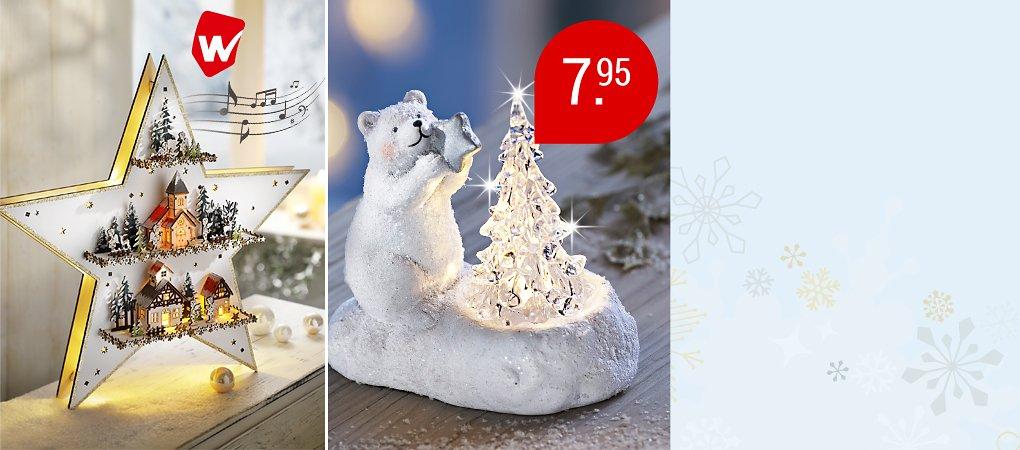 Zum Dahinschmelzen – wunderbare Weihnachtsdeko