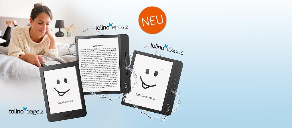 NEU: Die neue tolino eReader-Generation!