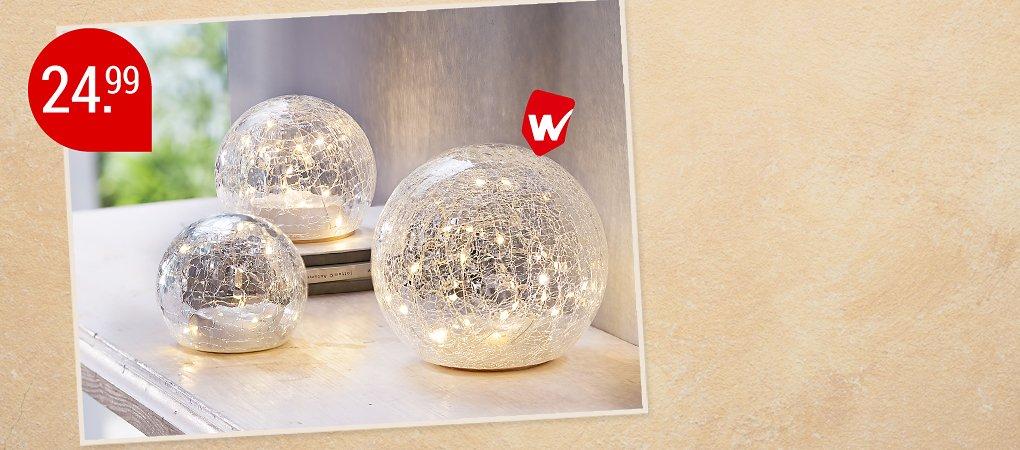 LED-Glaskugeln