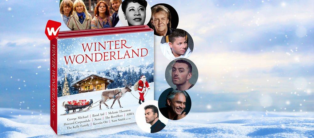 Winter Wonderland Weihnachts CD hier kaufen