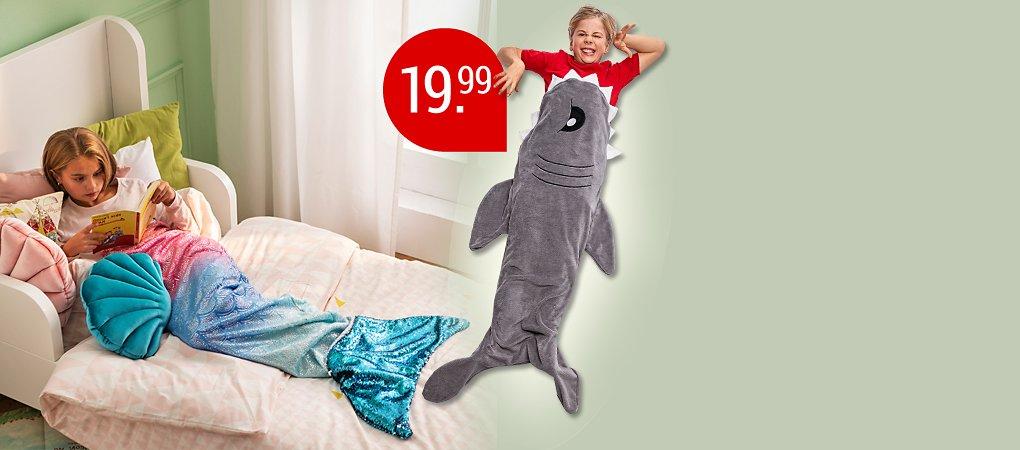 Decken für Kids