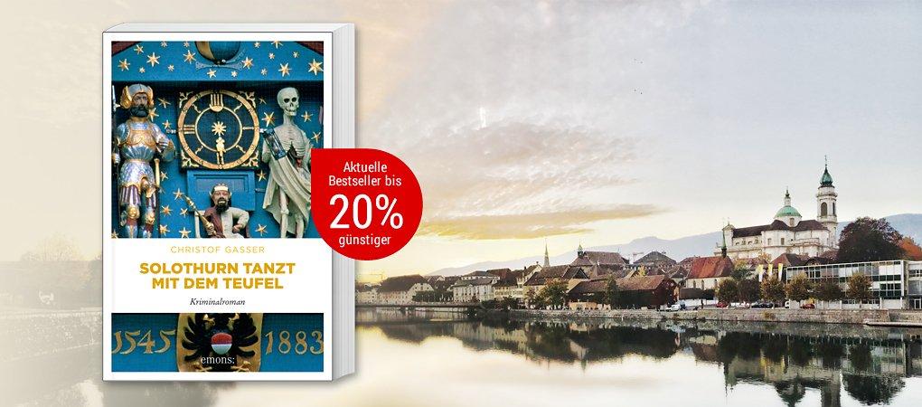 Der neue Krimi-Bestseller von Christof Gasser!