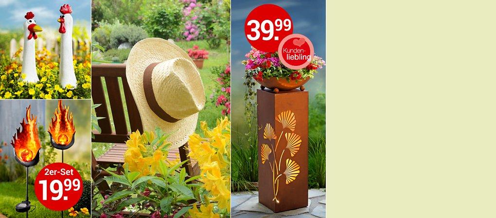 Hochsaison für Gartendekoration: Hier finden Sie tolle Ideen für Ihre grüne Oase