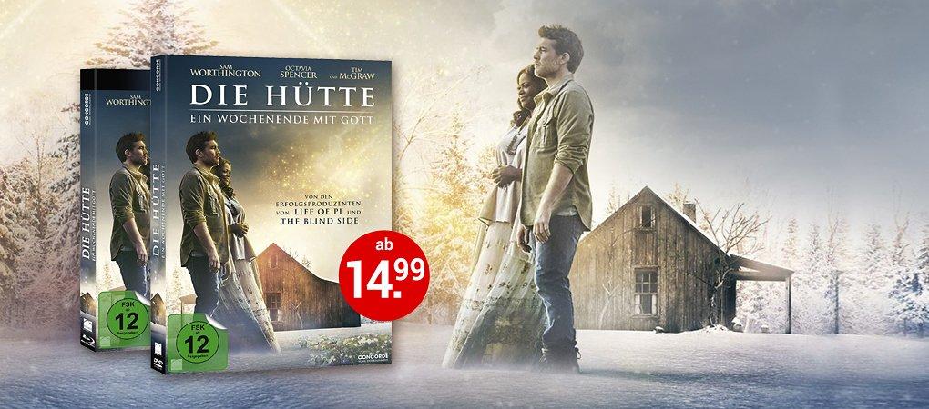 Die Hütte - Ein Wochenende mit Gott jetzt auf DVD & Blu-ray kaufen!