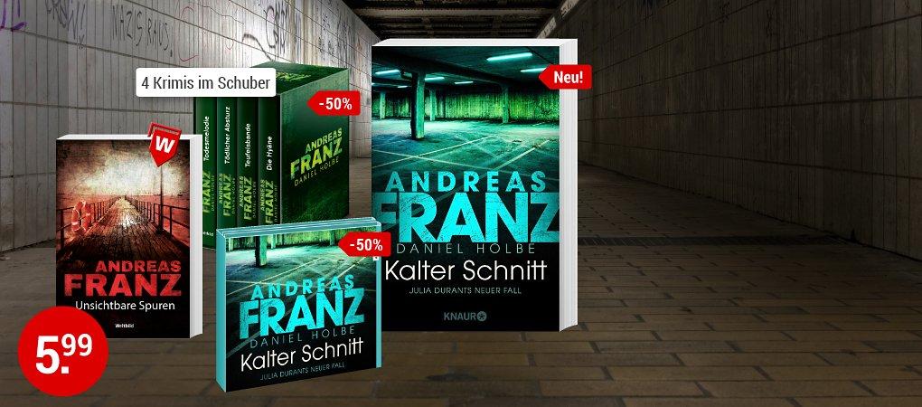 Neues von Lieblingsautor Andreas Franz