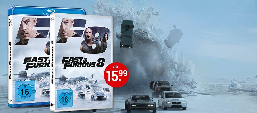Fast & Furious 8 auf DVD und Blu-ray jetzt kaufen!
