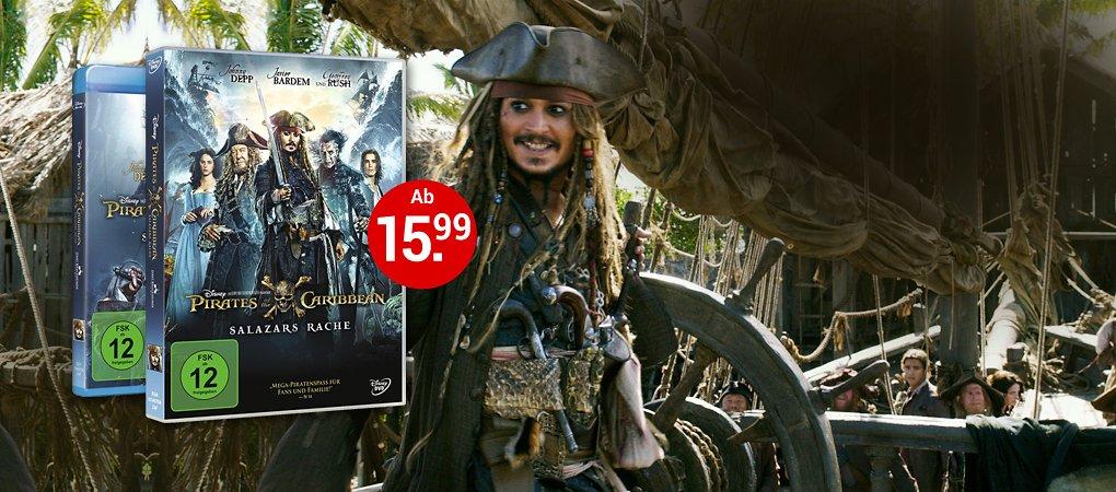 Pirates of the Caribbean: Salazars Rache auf DVD & Blu-ray!