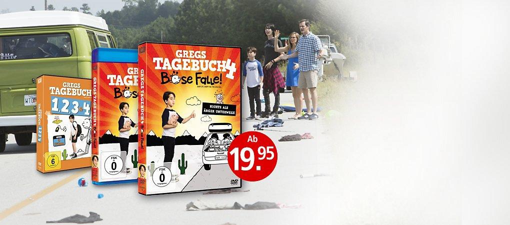 Gregs Tagebuch 4 - Böse Falle auf DVD & Blu-ray
