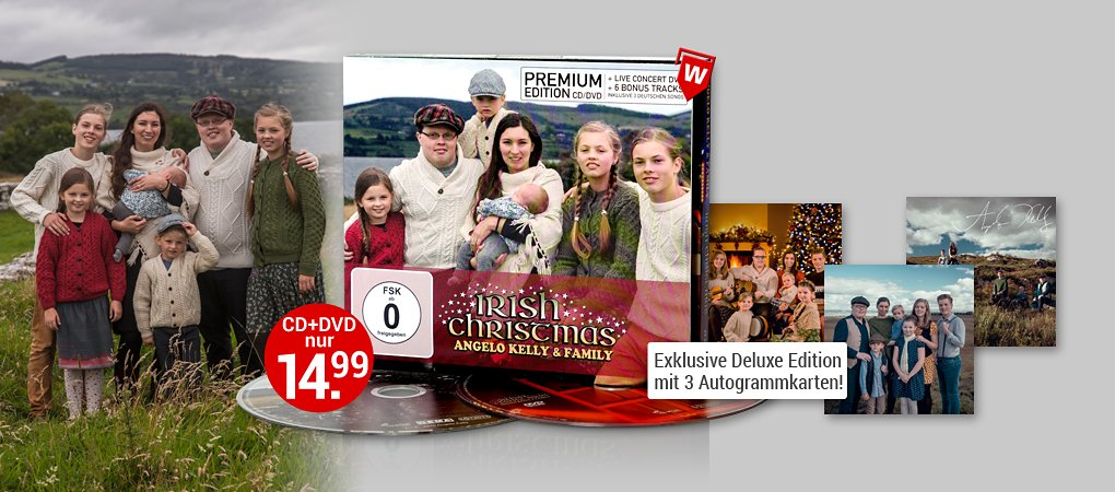Angelo Kelly & Family CDs hier kaufen