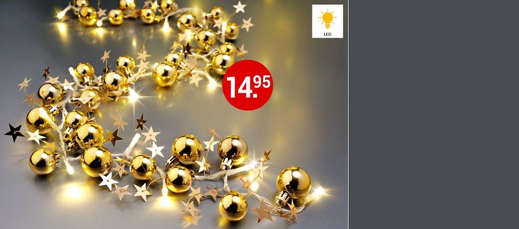 """Lichterkette """"Weihnachten"""""""