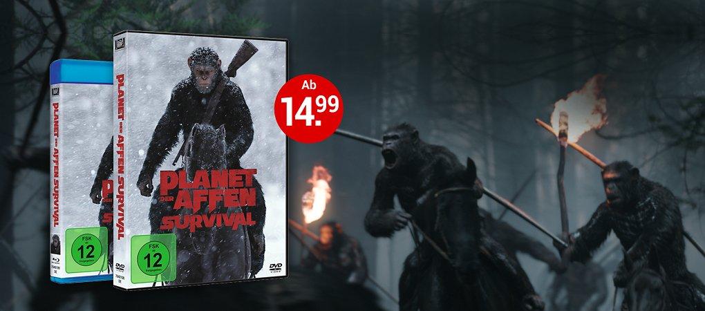 Planet der Afffen: Survival auf DVD & Blu-ray kaufen!