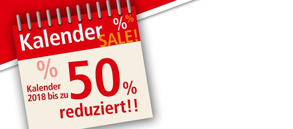 Großer Kalender-Sale - bis zu 50% reduziert!