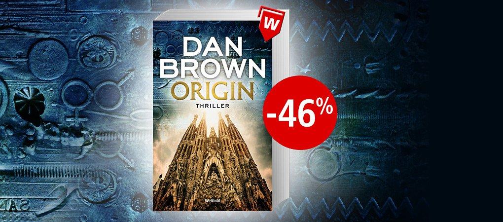 Dan Brown - Origin als günstige Weltbild-Ausgabe