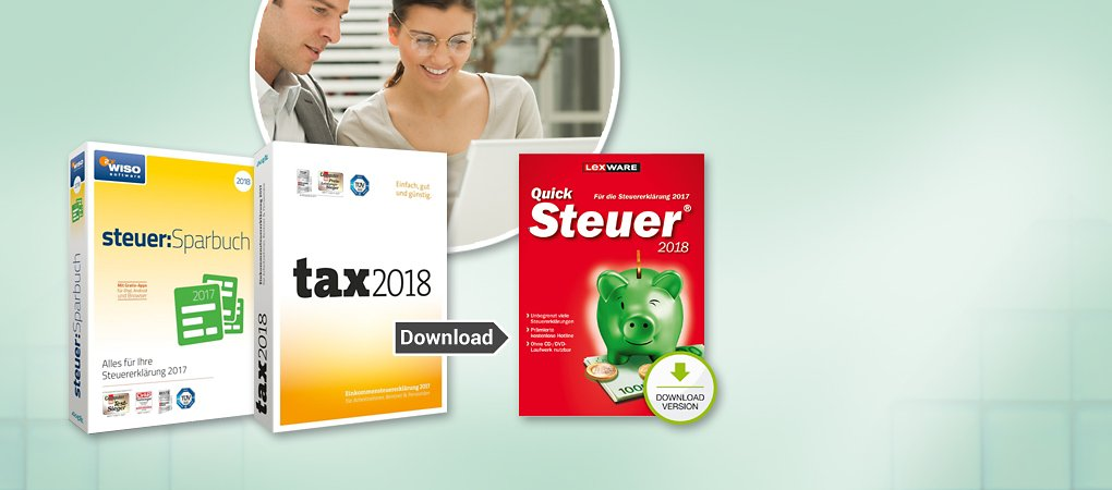 Steuersoftware bei Weltbild downloaden!