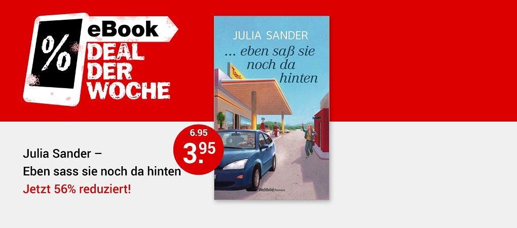 Julia Sander - ... eben sass sie noch da hinten