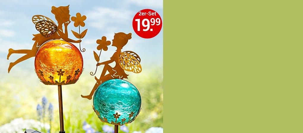 """Solargartenstecker """"Fairytale"""", 2er Set"""