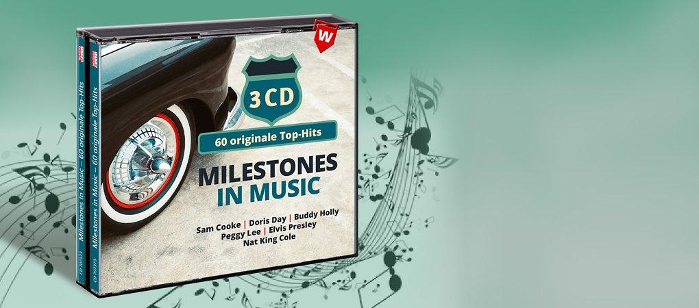 Milestones in Music - Oldie CD hier kaufen