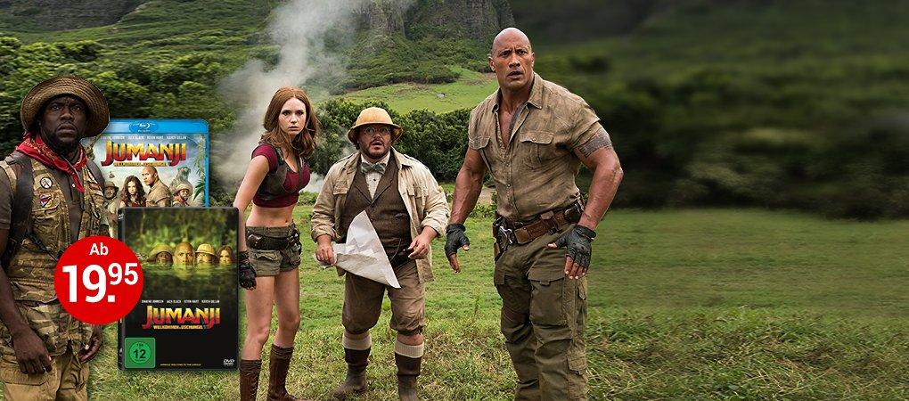 Jumanji: Willkommen im Dschungel auf DVD & Blu-ray - Jetzt bestellen