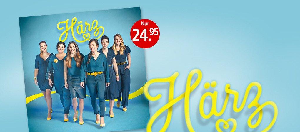 """Georg Schluneggers Girl Group """"Härz"""" in den Fussstapfen von """"Heimweh"""""""