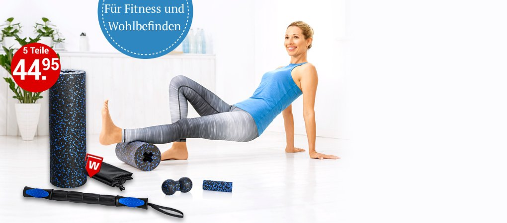 Fitness-Set FaszienPlus+ 5tlg.