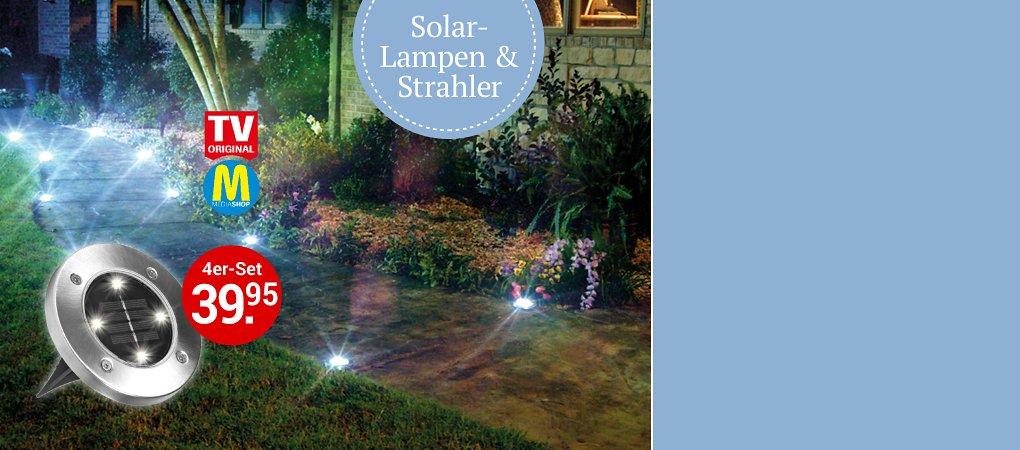 Licht & Design - entdecken Sie unsere Solarleuchten