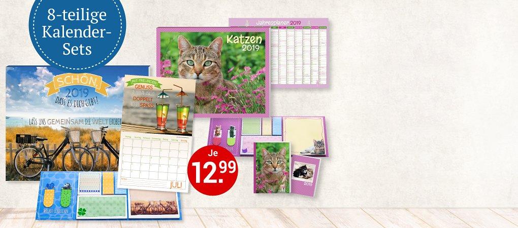 Entdecken Sie Kalender mit extra viel Zubehör